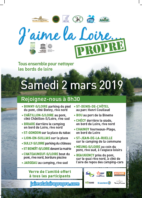 Affiche J'M Loire propre