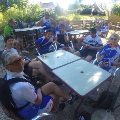 Ballade 100 kms VTT entre Sologne et Loire